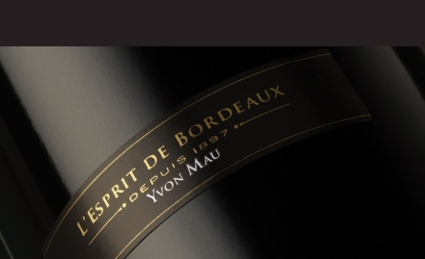 L'Esprit de Bordeaux by Yvon Mau label on the bottle