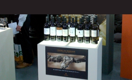 Esprit de Bordeaux range at London International Wine Fair 2012